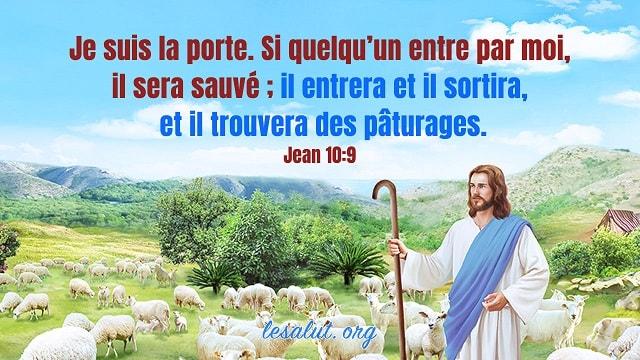 Les versets bibliques classiques à propos d'être sauvé I