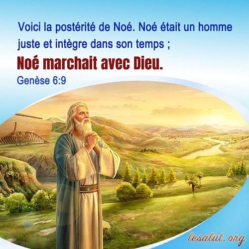 09 Mars 2018 – Genèse 6:9