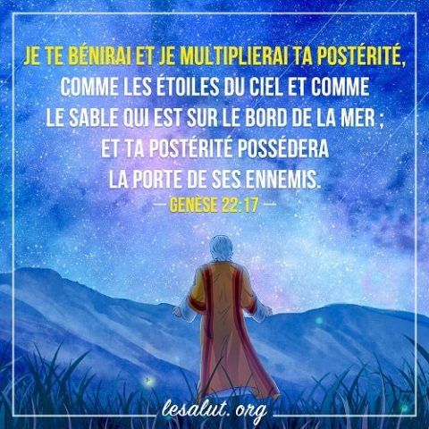20 Mars 2018 – Genèse 22:17
