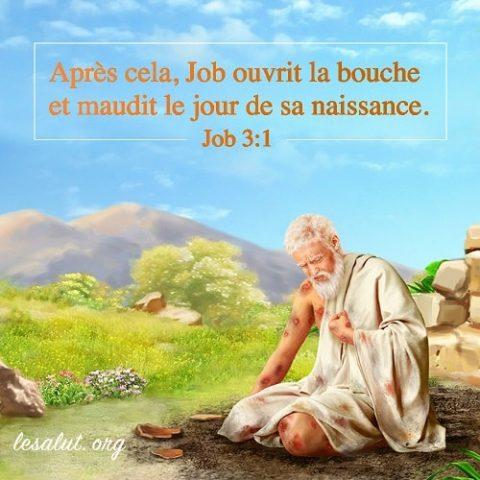 Verset biblique du jour Job 3:1