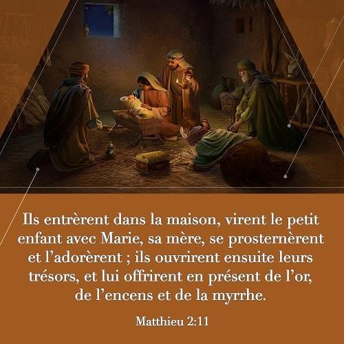 Évangile du jour – Matthieu 2:11