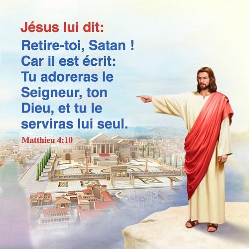 Évangile du jour – Matthieu 4:10