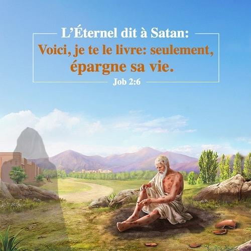 10 Avril 2018 – Job 2:6