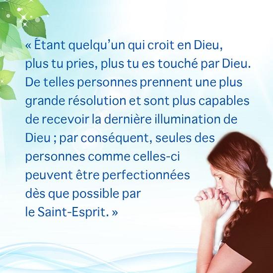 Prière – Image évangile