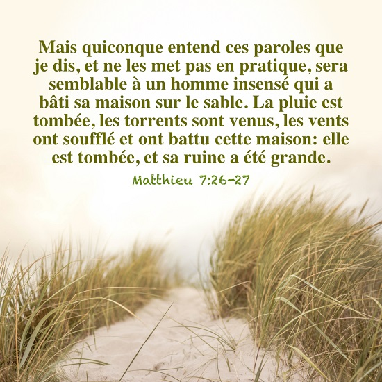 versets bibliques en images  Matthieu 7:26-27