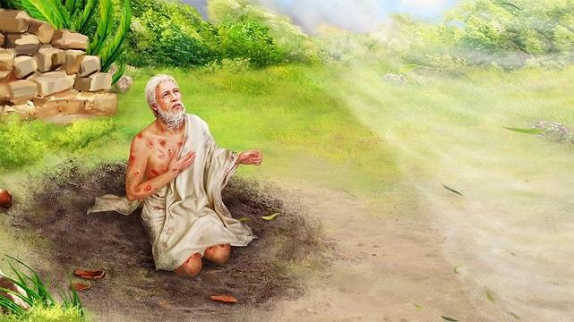 Dieu parle à Job – L'histoires de la Bible