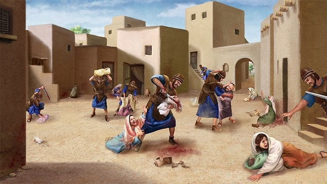 Hérode massacre les bébés – L'histoires de la Bible