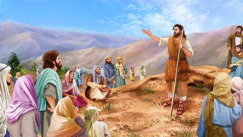 La mission de Jean-Baptiste – L'histoires de la Bible