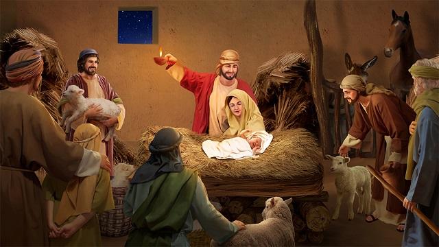 La naissance de Jésus – L'histoires de la Bible