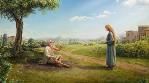 La tentation de Job : Job perd sa santé – L'histoires de la Bible