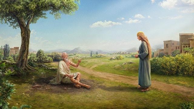 La tentation de Job Job perd sa santé – L'histoires de la Bible