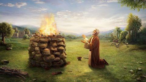 La vie quotidienne de Job dans la Bible et la première attaque de Satan – L'histoires de la Bible