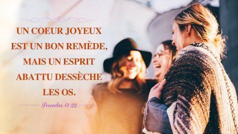 versets bibliques sur la joie