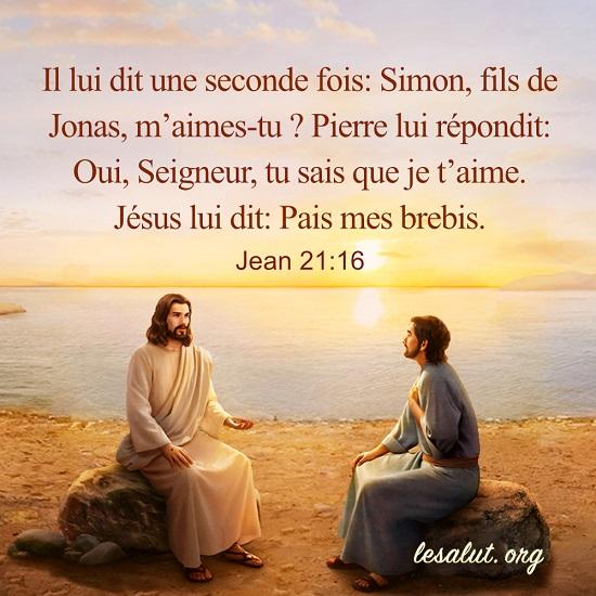Jean 21:16 – Votre amour pour Jésus