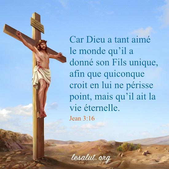 Jean 3:16 – La vie éternelle