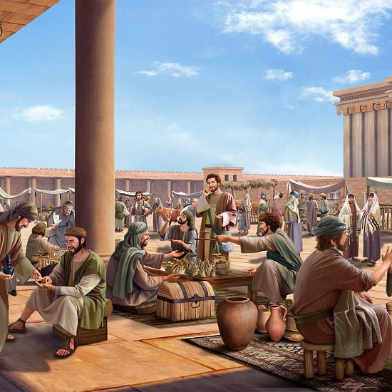 Évangile du jour – La révélation qui nous est donnée à travers la destruction du temple