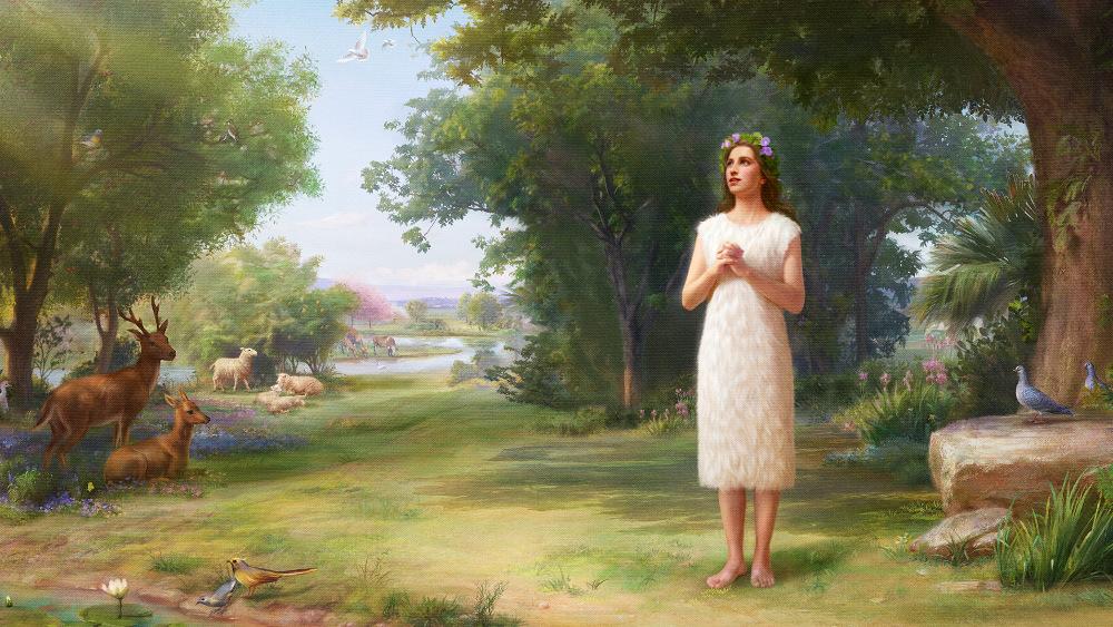 Dieu crée Eve