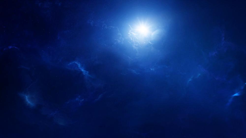 Le premier jour, le jour et la nuit de l'humanité sont nés et tiennent bon grâce à l'autorité de Dieu