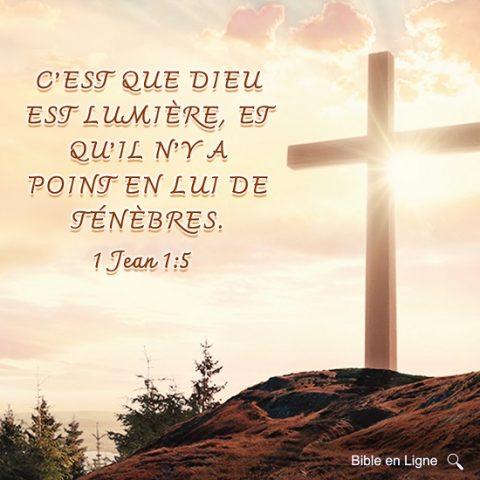 Évangile du jour – Dieu est lumière