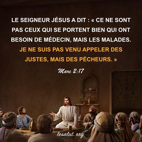 Évangile du jour – Dieu sauve les pécheurs