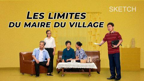 Les limites du maire du village