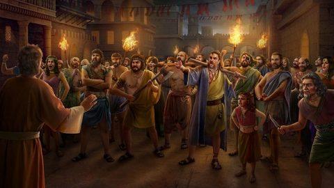 Sodome est détruite pour avoir offensé la colère de Dieu