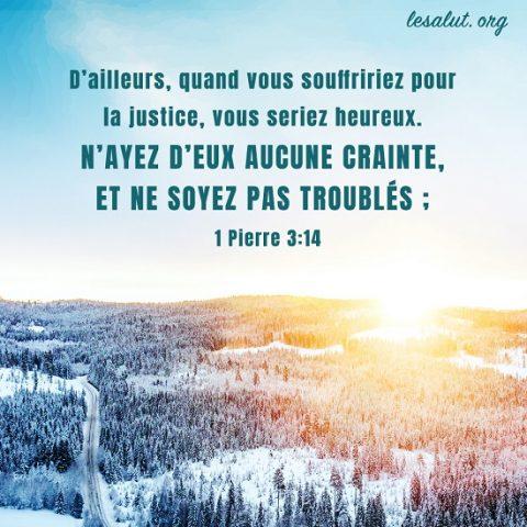 Évangile du jour – Heureux ceux qui sont persécutés pour la justice