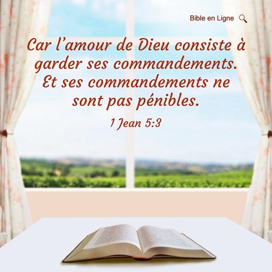 Évangile du jour – L'amour de Dieu consiste à garder ses commandements