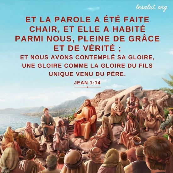 Évangile du jour – L'incarnation du Seigneur Jésus a un sens profond