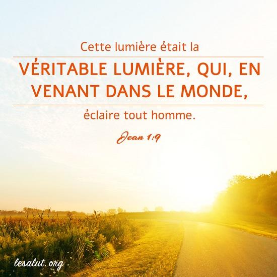 Évangile du jour – La parole de Dieu est la véritable lumière qui éclaire chaque personne