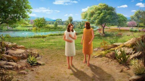 Adam et Ève sont chassés hors du jardin d'Éden