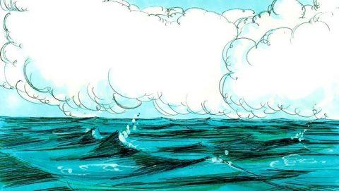 Dieu dit: Qu'il y ait une étendue entre les eaux, et qu'elle sépare les eaux d'avec les eaux.
