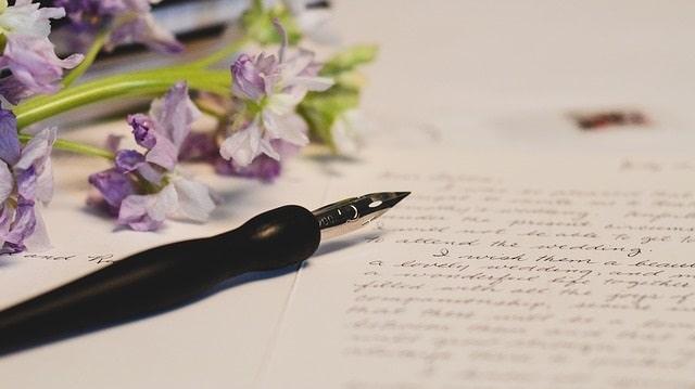 Ma première lettre à mon mari après mon mariage