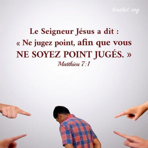Évangile du jour - Dieu déteste les jugements des hommes