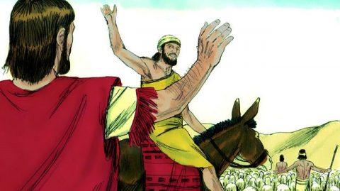 Abraham et Lot se séparent