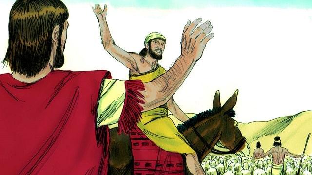 Évangile du jour –  Le Seigneur revenu aura un nouveau nom