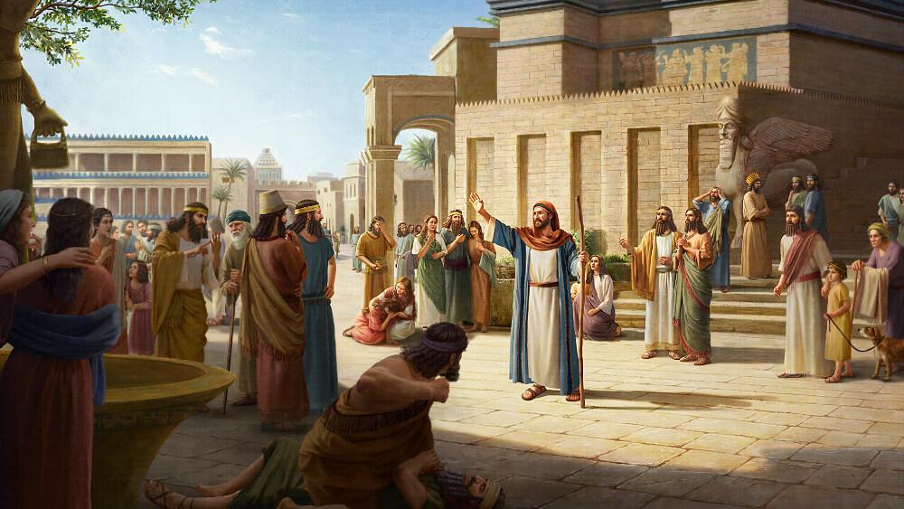 L'avertissement de l'Éternel parvient aux Ninivites