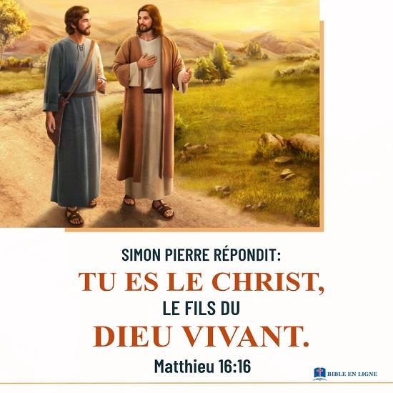 Évangile du jour - Pourquoi le Seigneur Jésus est appelé le Christ ?