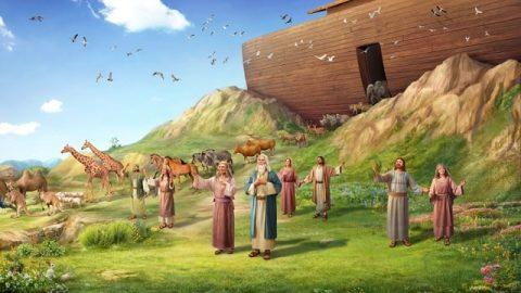 Les bénédictions de Dieu pour Noé