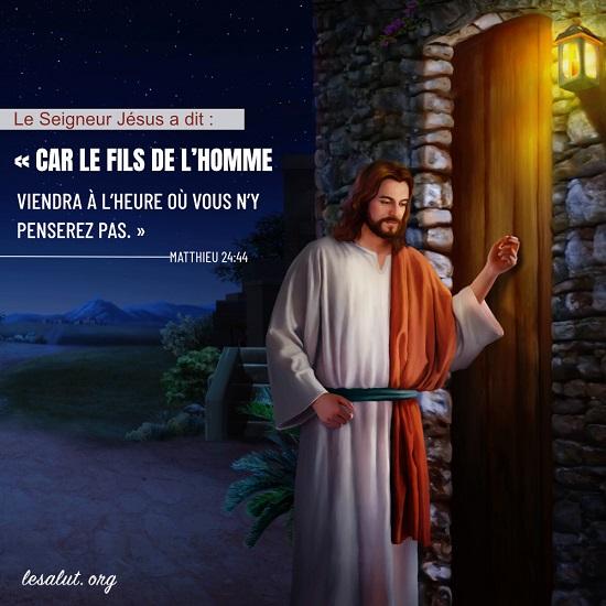 Évangile du jour – Comment accueillons-nous le retour du Seigneur Jésus ?