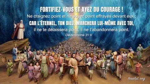 7 versets bibliques sur le courage