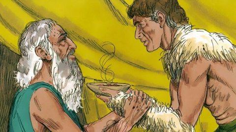Isaac bénit Jacob
