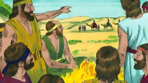 Joseph est vendu en Egypte