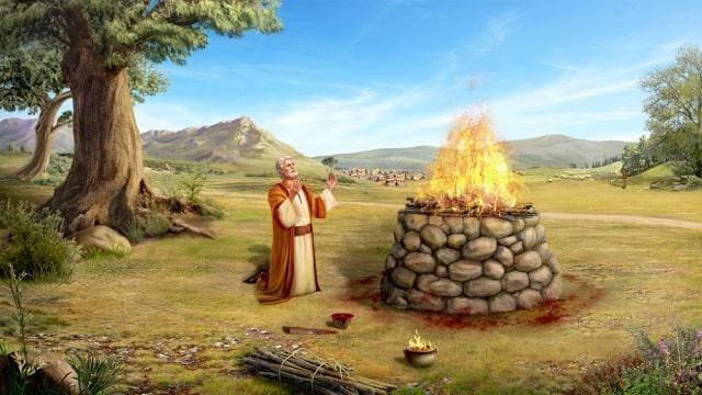 L'alliance de Dieu avec Abraham
