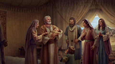 La naissance d'Isaac