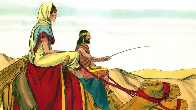 Le mariage d'Isaac et Rebecca