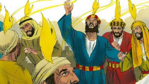 La venue du Saint-Esprit à la Pentecôte