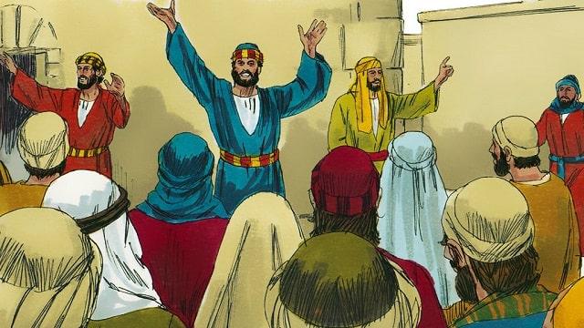 Le sermon de Pierre à la Pentecôte