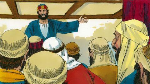 Matthias est élu douzième apôtre pour remplacer Judas