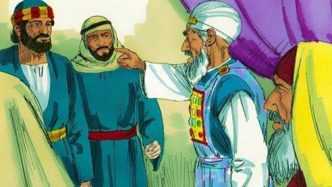 Pierre et Jean sont jugés devant le Sanhédrin